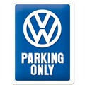 Plakat 15x20 VW Parking Only