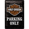 Plakat 20x30  Harley-Davidson Parking Only
