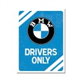 Magnes BMW Drivers Only Blue